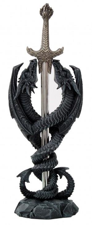 Drachen mit Schwert