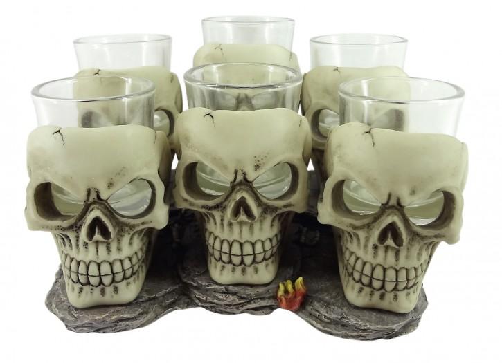 Skull Schnapsglas