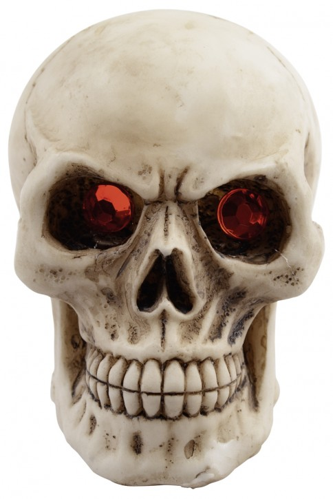 Small Skull with red eyes