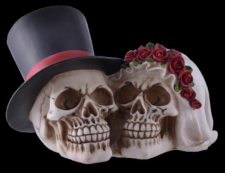 Totenkopf Brautpaar