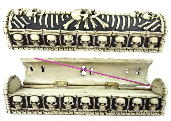 Skulls Räucherstäbchenhalter