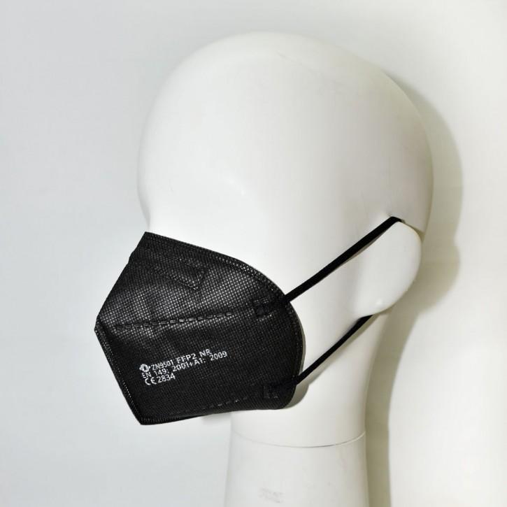 FFP2 Schutzmaske, schwarz