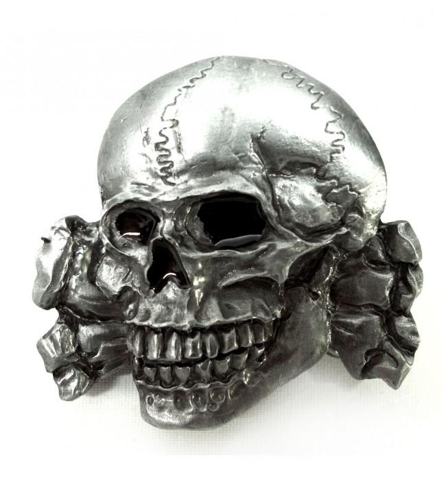 Gürtelschnalle Skull 2