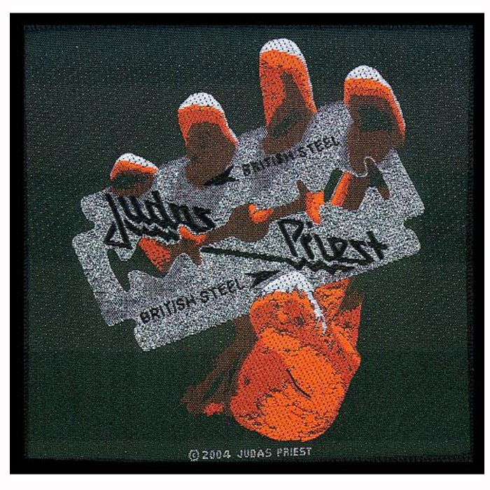 Patch Judas Priest British Steel orange