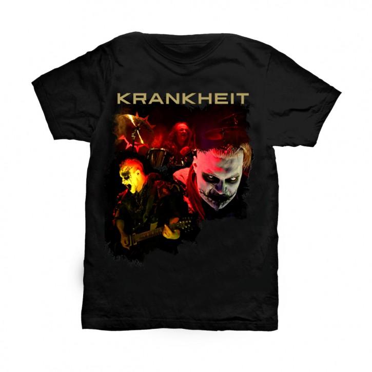 Krankheit T-Shirt Band XL