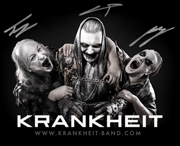 KRANKHEIT signed photo Zerberus