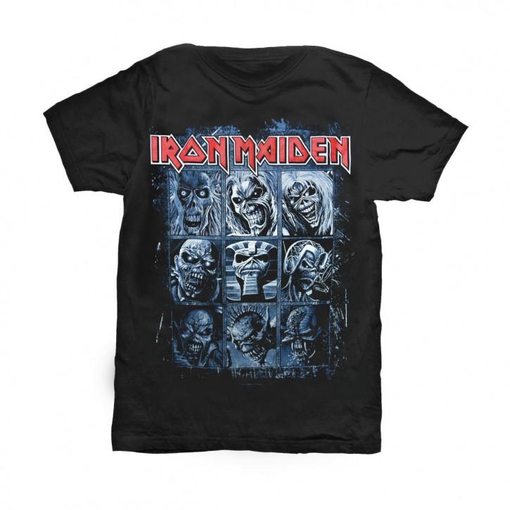 Iron Maiden T-Shirt Nine Eddies
