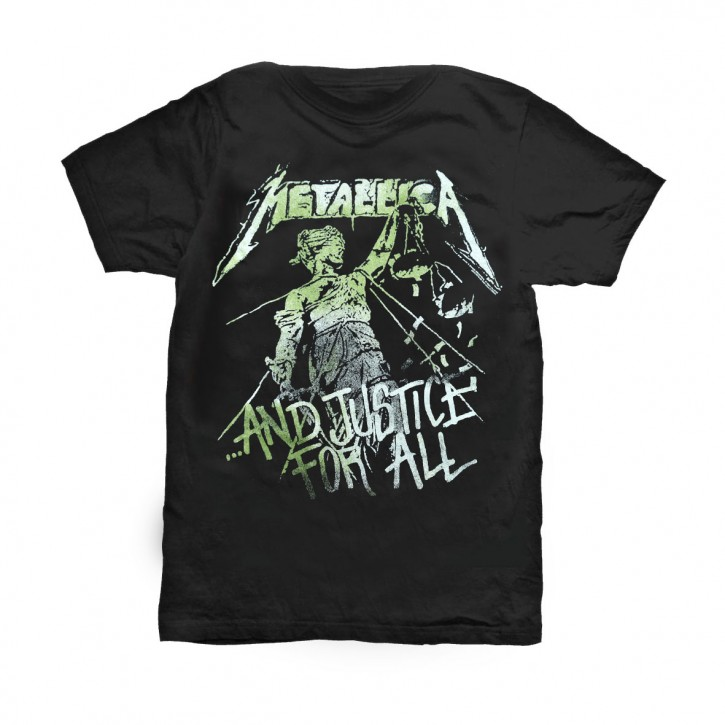 Metallica T-Shirt  ...And Justice For All