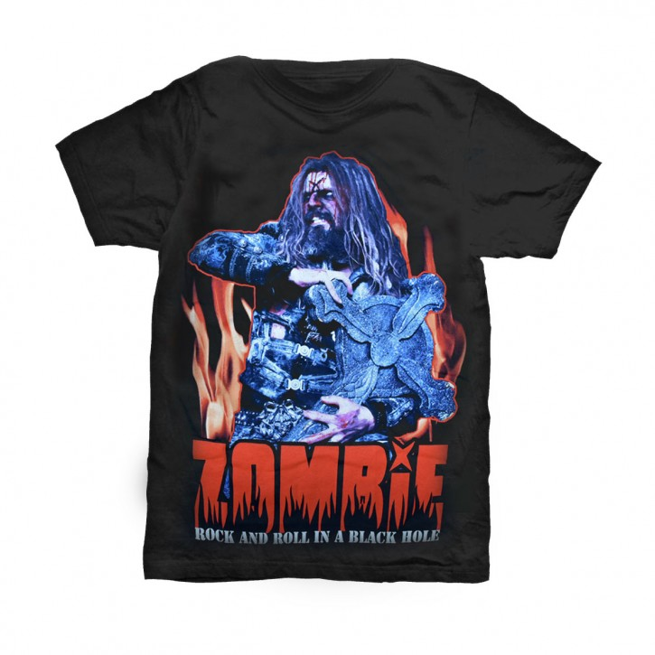 Rob Zomby T-Shirt  Rock and Roll in a B...