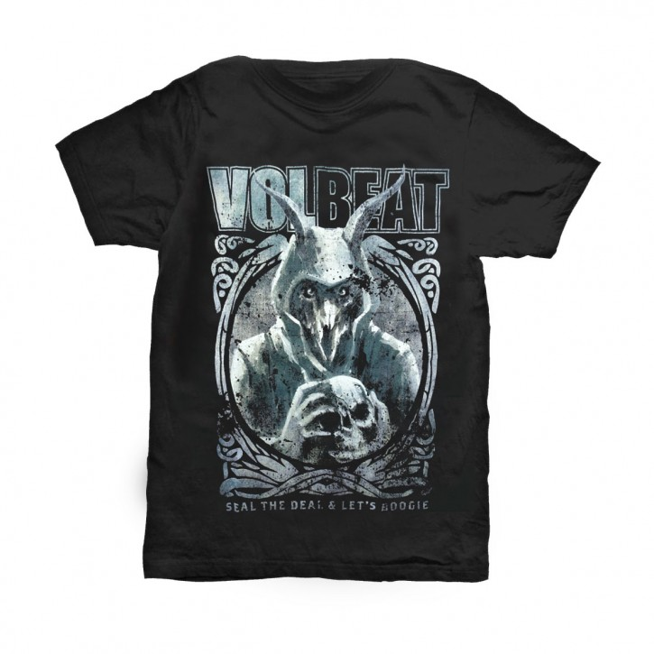 Volbeat T-Shirt  Goat with Skull