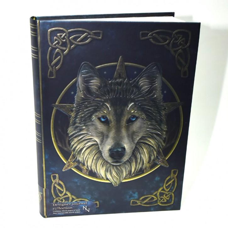 Notizbuch Wolf