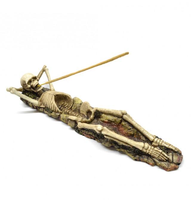 Skelett Räucherstäbchenhalter
