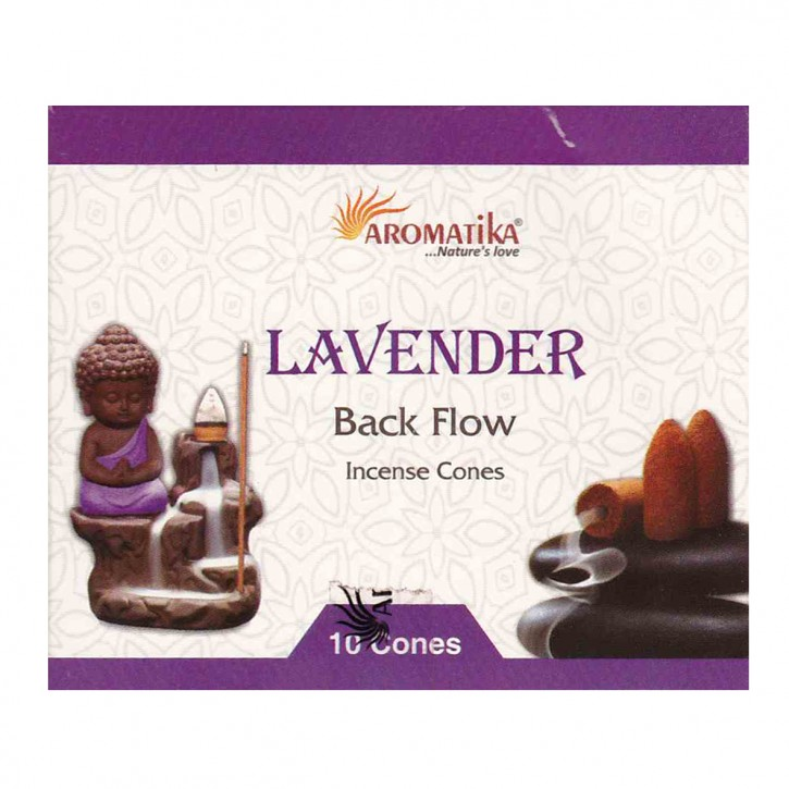 Backflow Incense Cones lavender