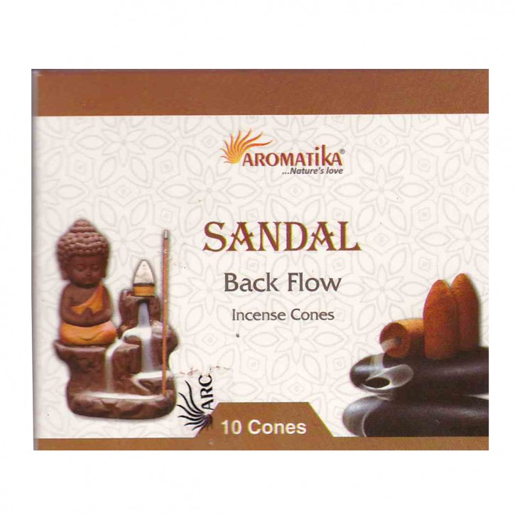 Backflow Incense Cones sandal