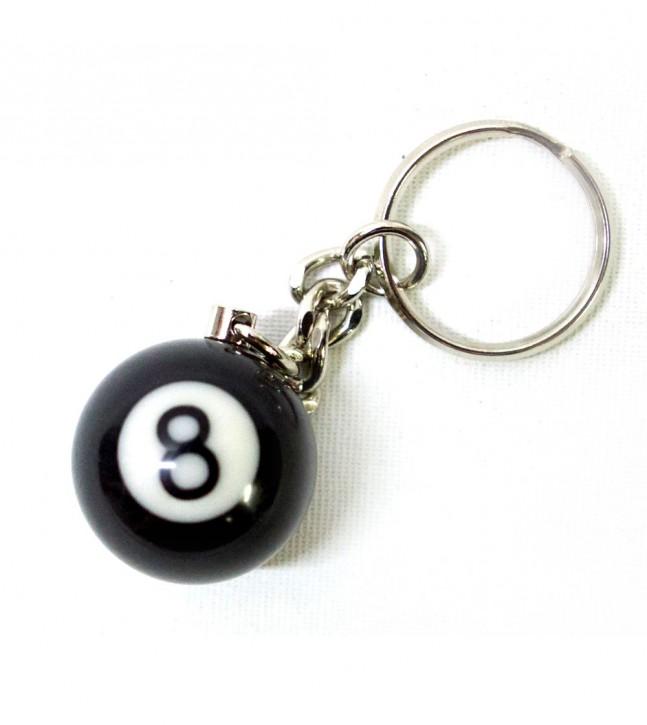 Key Chain 8-Ball Billiards