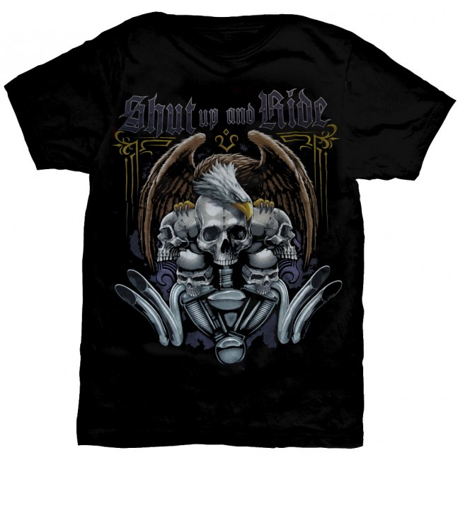 Shut up & Ride T-Shirt Nr.: 1