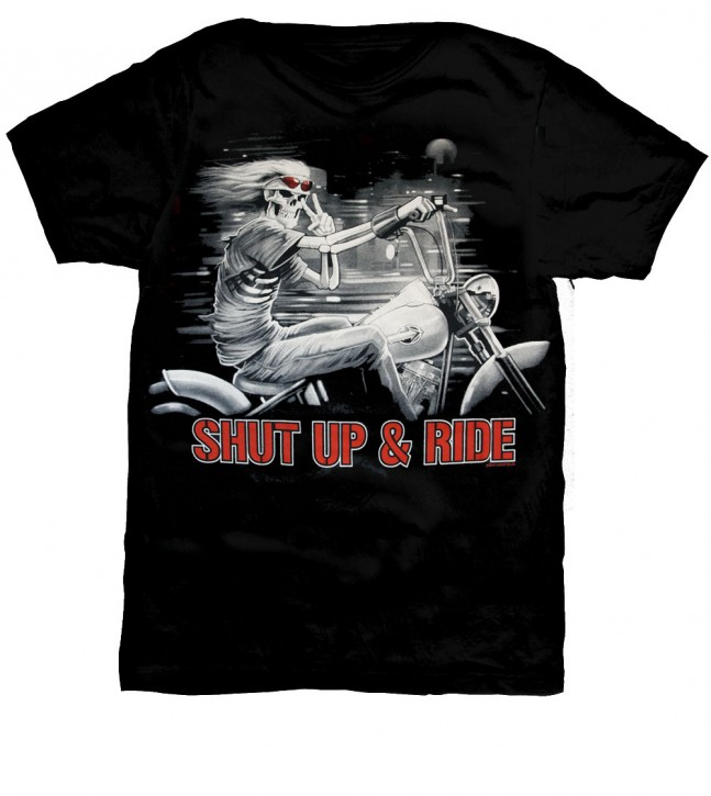 Shut up & Ride T-Shirt Nr.: 2