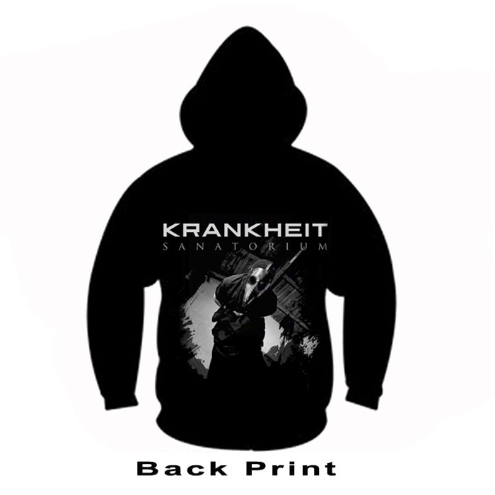 Krankheit Kaputzen Sweat-Shirt Sanatorium XL