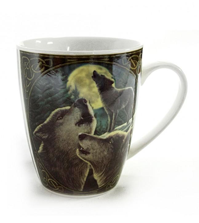 Tasse 3 Wölfe