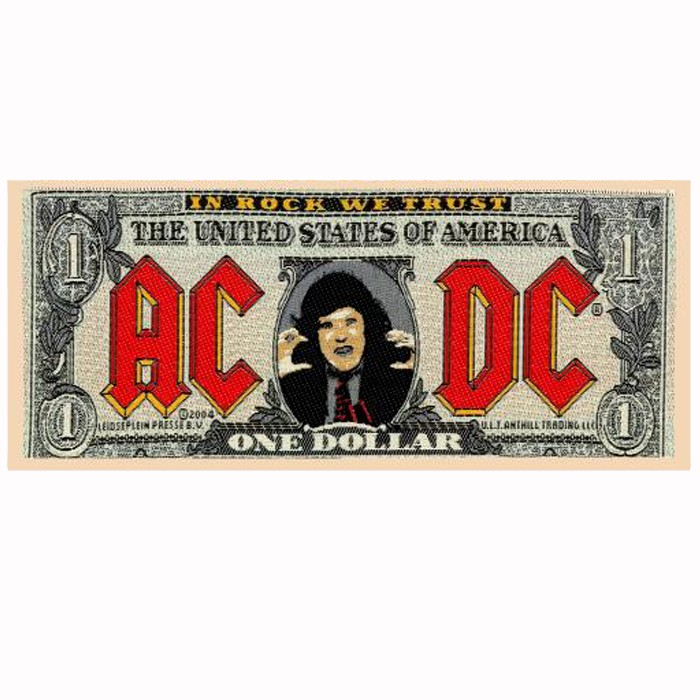 Patch Strip AC/DC Bank Note