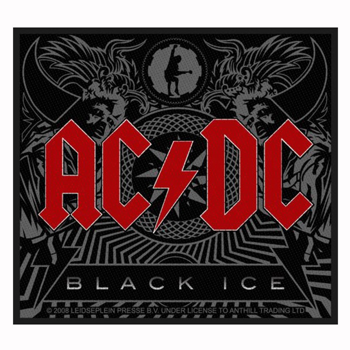 Patch AC/DC  Black Ice