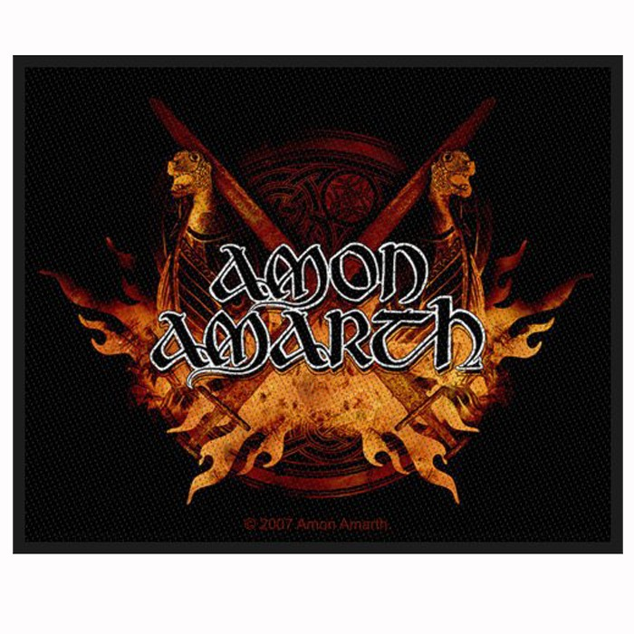 Patch Amon Amarth  Viking Horde