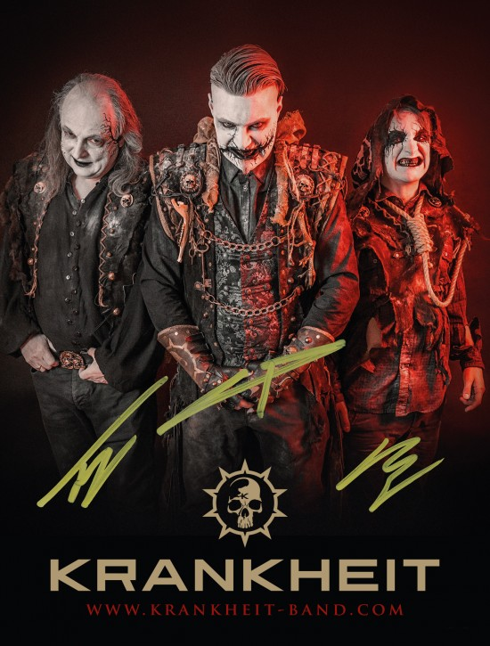 KRANKHEIT signed photo