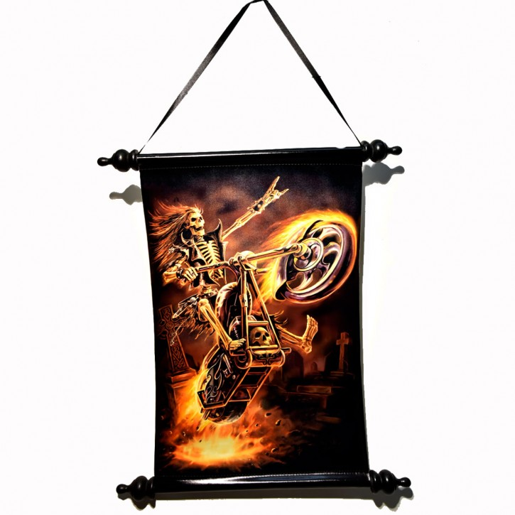 Fantasy Art Scroll