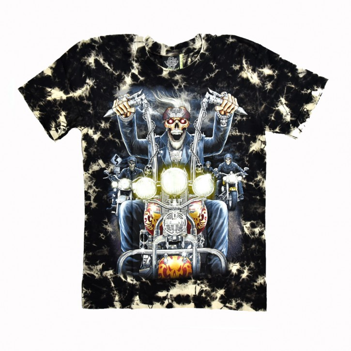 Biker Batik T-Shirt
