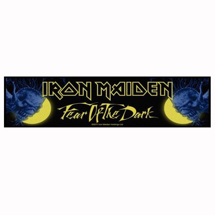 Patch Strip  Iron Maiden  Fear Of The Dark