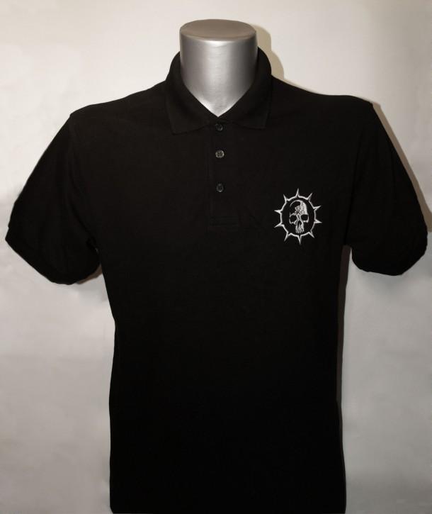 Krankheit Logo Polo-Shirt bestickt