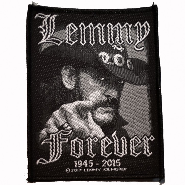 Patch Motörhead Lemmy Forever