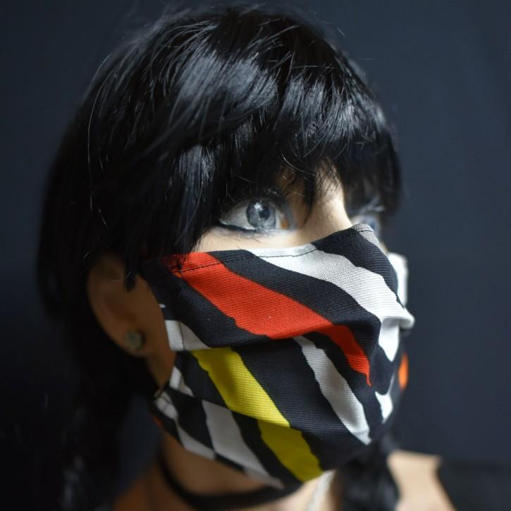 """Mund-Nasen Behelfs Maske """"Bunt"""""""