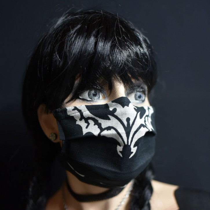 """Mund-Nasen Behelfs Maske """"Fledermaus"""""""