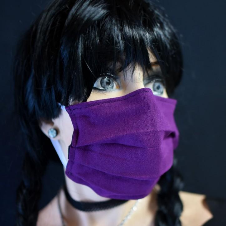 "Mund-Nasen Behelfs Maske ""Violet"""