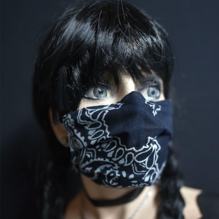"""Mund-Nasen Behelfs Maske """"Paisley"""""""