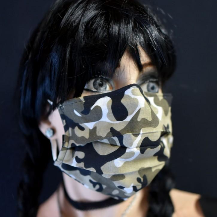 """Mund-Nasen Behelfs Maske """"Wintertarn"""""""