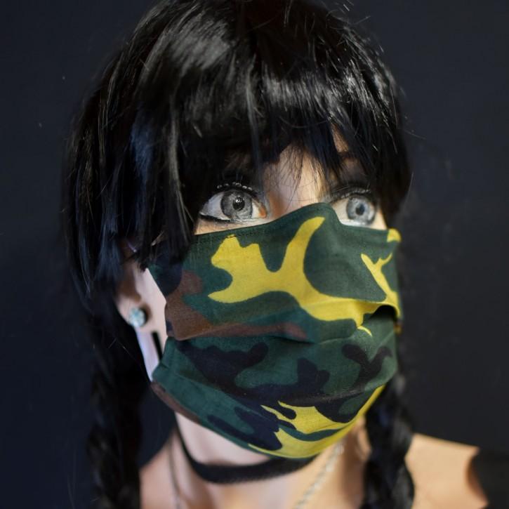 """Mund-Nasen Behelfs Maske """"Woodland"""""""
