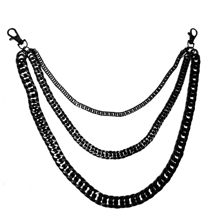 3-part key chain