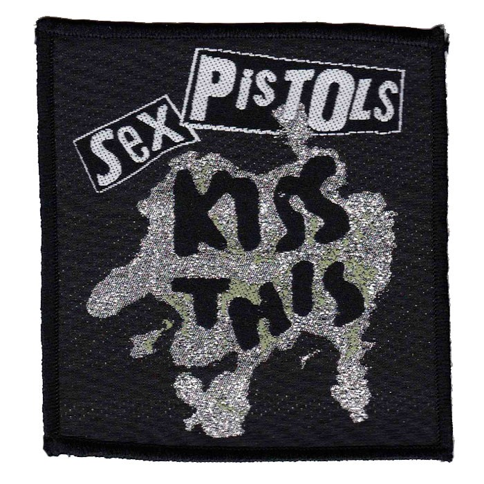 Patch Sex Pistols Kiss This