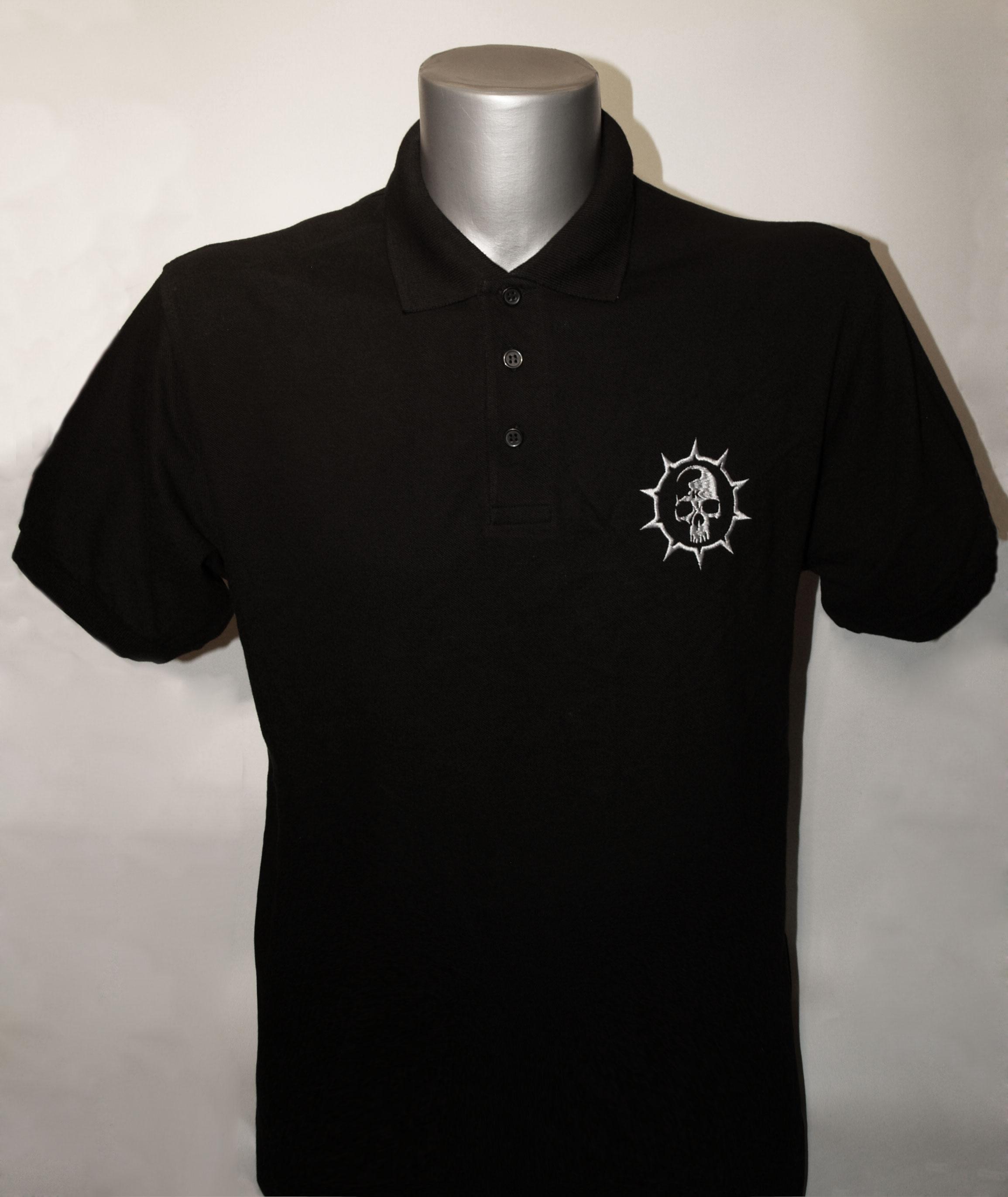 Krankheit Logo Polo Shirt Bestickt M Krp1 3