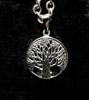 Stahlanhänger Baum des Lebens