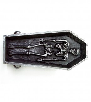 Buckle coffin