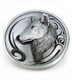 Gürtelschnalle Wolf