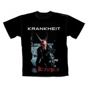 T-Shirt Krankheit Krampus L