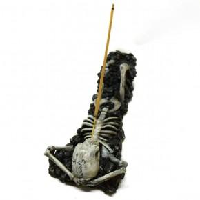 L.D.A. Skelett Räucherstäbchenhalter