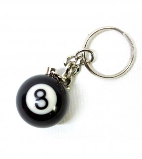 Key Chain 8-Ball Billiards