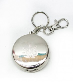 Key Chain Ashtray Leaf
