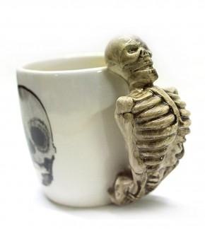 Tasse Skelett