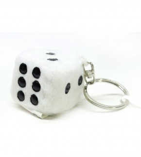 Key Chain Dice Plush